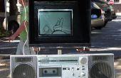 Bricolage Bright Sunlight lisible en plein air vidéo écran LCD