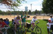 Vélo électrique de générateur électrique - bricolage Simple Musée des sciences interactif mobile
