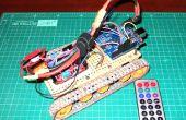 Sur chenilles Robot IR télécommande par Arduino