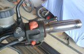 Comment changer les poignées de moto