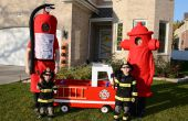 Lutte incendie famille Halloween Costumes