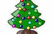 Arbre de Noël arbre-moins - presque gratuit