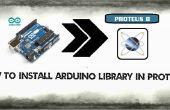 Bibliothèque de l'Arduino dans Proteus