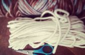 Un panier de fil de tissage