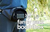 Fanny pack boombox