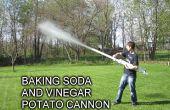 Bicarbonate de soude et vinaigre Cannon
