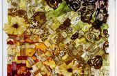 Fenêtre de verre de fruits