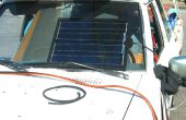 Batterie de voiture solaire chargeur bricolage