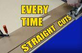 Aplanissez coupe chaque fois avec un panneau de porte