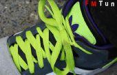 Comment fixer le lacet de chaussure effilochée