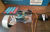 Arduino, contrôle d'accès clavier sans résistance