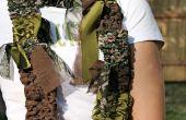 Comment faire un mouvement de balancement & du métier à tisser une écharpe de tissu