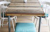 Palette Table bricolage
