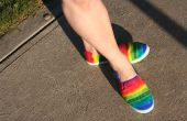 Chaussures Rainbow facile