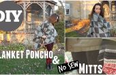 Couverture Poncho & aucun ne coudre les mitaines
