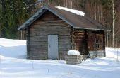 Construire un Sauna extérieur
