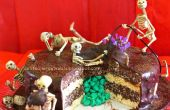 Gâteau Surprise squelette « Death By Chocolate »