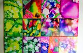 Dessous de verres Rainbow carrelage art
