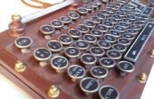 Ma version de clavier Steampunk