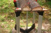 Ajouter un sawbuck à une table de travail
