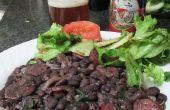 Brésilien noir haricots aux saucisses