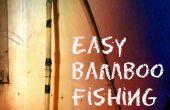 Canne à pêche en bambou facile