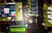 Système de domotique à l'aide du module Arduino et GSM SIM900