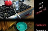 Enhanced facile, économique, écologique Distillation - appareil 2.0