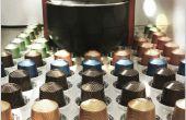 Dégager le porte-dosette café acrylique
