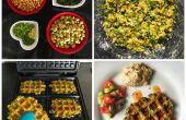 Wafalafel : délicieux mélange exempt hésitant falafels