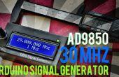 Arduino + AD9850 30MHZ DDS générateur de Signal à 12$