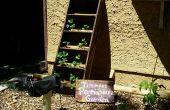Vertical Strawberry Planter: Reclaimed Ladder