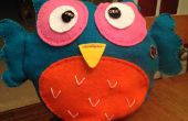 Athena Owl oreiller veilleuse-Lilypad Arduino