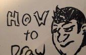 Comment dessiner un visage de base