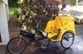 Mises à niveau de 1 pouce essieu pour les cyclo-pousse à l'aide de pièces de karting