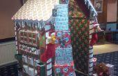 Maison de Noël pain d'épice pour le père Noël !