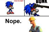 Sonic.Exe (et autres) bande dessinée