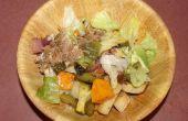 Salade de légumes avec une touche du Sud grillés
