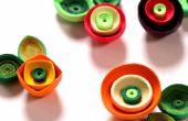 Comment faire des fleurs de pavot piquants à l'aide de papier d'Art Quilling | DIY