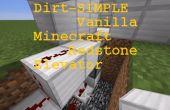 Ascenseur de Redstone simples (1 histoire) - Vanilla Minecraft PC (redstone tous-mise à jour + compatible)