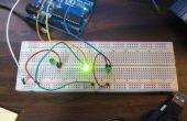 Plusieurs LED clignotant sur l'Arduino