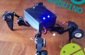 3D imprimé « Transformers » Robot - Spiderbot