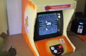 Top Bar carton Console de jeux Arcade - Lithium pluie recyclée divertissement Machine de piété