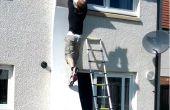 Comment construire un mur déformé de guerrier Ninja