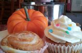 Citrouille Swirl Cheesecake Cupcakes