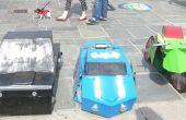 Transformer la moto Batmobiles et Robin