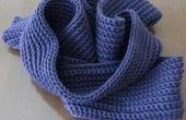 Comment faire une écharpe au crochet