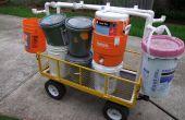 Chariot de transport pour le seau Camp louveteau