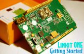 Guide de configuration de Linkit ONE
