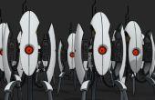Pleine échelle ouverture tourelle de Portal 2